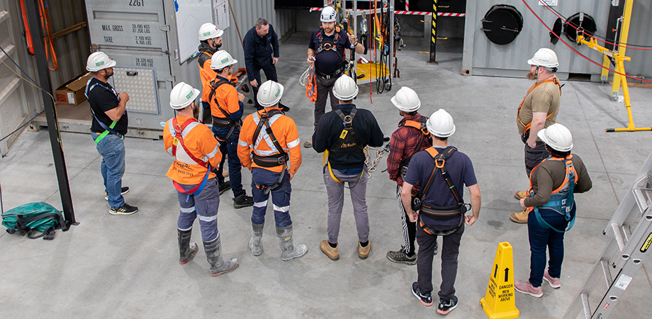 Information about training at Height Safety Engineers