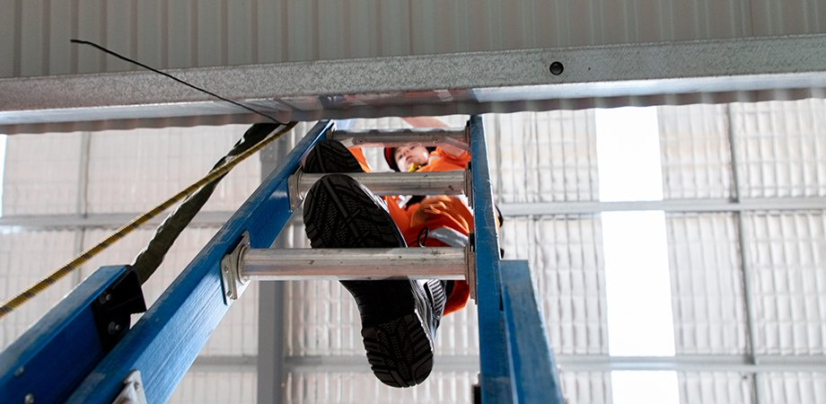 Accessing your home roof safely using a portable ladder